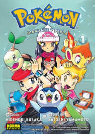 Pokémon: Diamante y perla 1